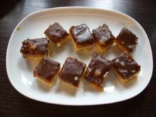 Keks & Co:  Walnuss-Nougat-Häppchen - Rezept