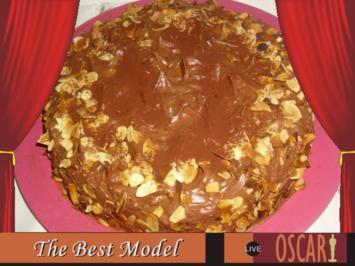 Schokoladentorte mit Apfelcreme - Rezept