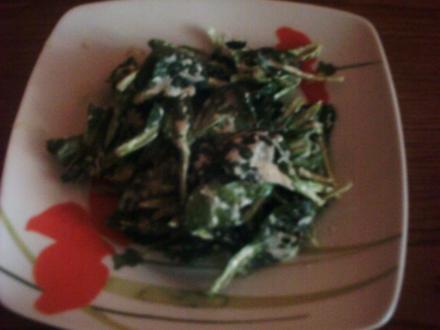 Feldsalat mit Oma´s weißer Sauce - Rezept