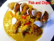 Fish and Chips-Curry - Rezept
