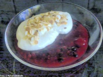 Gemischte Beeren mit Vanillecreme - Rezept