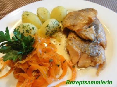 Fisch:    LACHSFORELLENFILET natur - Rezept