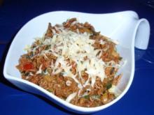 Hack-Gemüse-Soße mit Linguini - Rezept