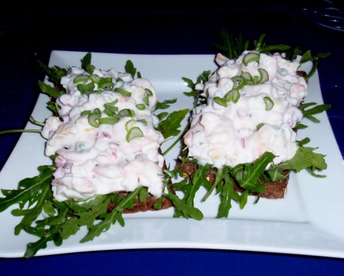Tiger-Shrimps-Quark-Frischkäse-Aufstrich - Rezept Eingereicht von Rosalinde111