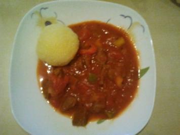 Mein Ungarisches Gulasch - Rezept