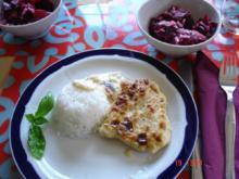 Zwiebel-Sahne Hähnchen - Rezept