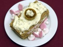 Schwedisches Knäckebrot-Tiramisu mit Preisel- und Multbeere dazu Nubbe (Charlotte Karlinder) - Rezept