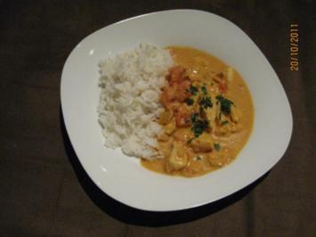 Rezept: Fisch - Curry