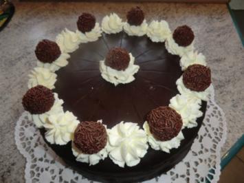 &#9829 Schoko - Rum  - Torte &#9829 - Rezept