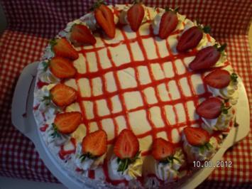 Meine Erdbeertorte - Rezept
