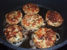 Fleisch: Hühner - Kokos - Burgern - Rezept