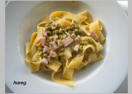 Pappardelle primavera - Rezept