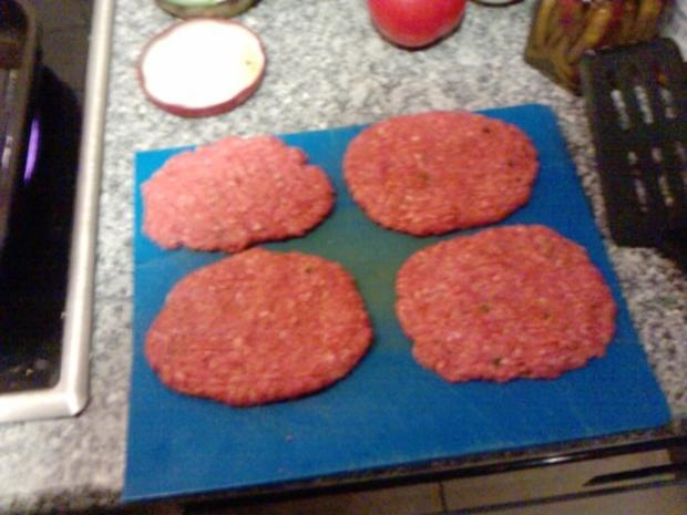 Semmel-Burger Diavolo - Rezept - Bild Nr. 3