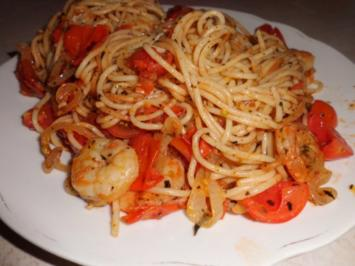 "Pasta: Spaghettipfanne ""Spicy Mediterrana"" - Rezept"