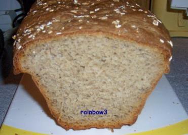 Backen: Würziges Kasten-Mischbrot (Sauerteig) - Rezept