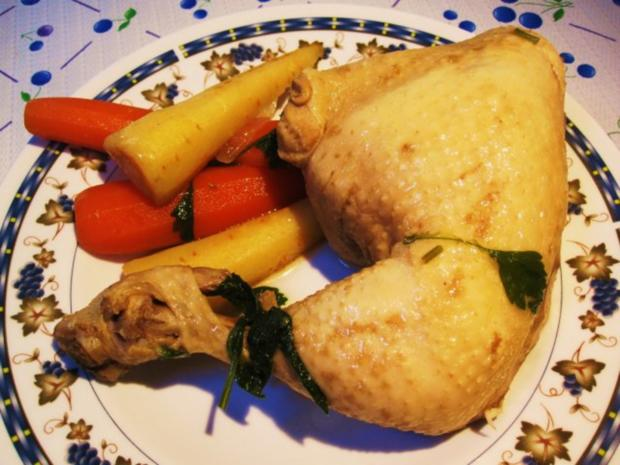 Oma´s klare Hühnersuppe ... - Rezept - Bild Nr. 5