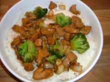 Pute trifft Broccoli chinesisch - Rezept