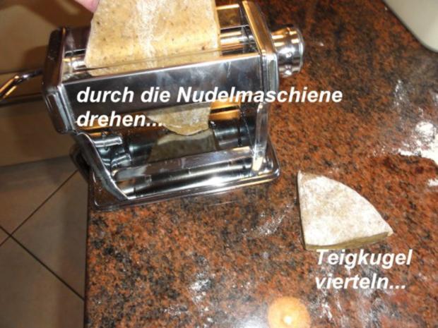 Nudeln:   STEINPILZ - TAGLIATELLE - Rezept - Bild Nr. 5