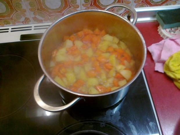 Mein karotten und kartoffeln durcheinander rezept - Karotten kochen ...