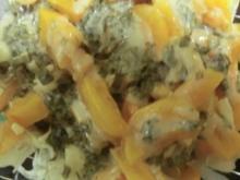 Eissalat mit Sharon-Estragon-Dressing - Rezept