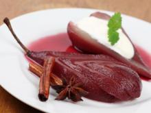 Rotweinbirnen - Rezept - Bild Nr. 2