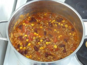 Chili con Carne Texas-Art - Rezept