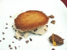 Neue Florentiner Kekse mit Maroneneis und Pekannuss–Krokant - Rezept