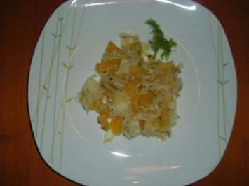 Fenchel Orangen Salat - Rezept