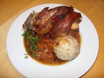 D: Schweinshaxen - Rezept