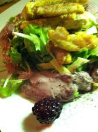 Julius- Salat.. mit fruchtigen Dressing - Rezept