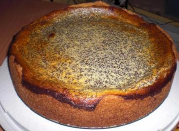 Mohn-Käsesahne-Torte - Rezept