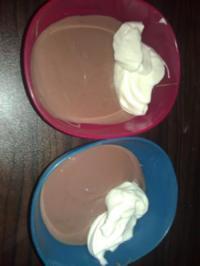 Sahne Pudding - Rezept
