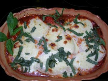 """Pute """"caprese"""" mit Tomaten, Mozzarella und Basilikum/schnell, einfach,lecker - Rezept"""