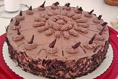 Schoko Buttercreme Torte Rezept Mit Bild Kochbar De