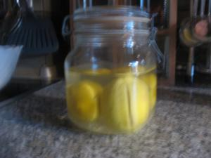 Salz-Zitronen - Rezept