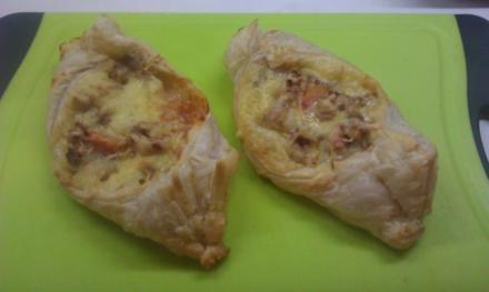 Hackfleisch-Käse Schiffchen - Rezept