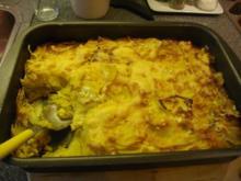 Steckrüben-Kartoffelgratin mit Ingwer - Rezept
