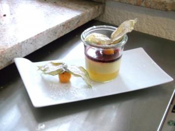 Rezept: Maracuja-Sahne-Creme