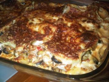 Mediterrane Gemüse-Lasagne - Rezept