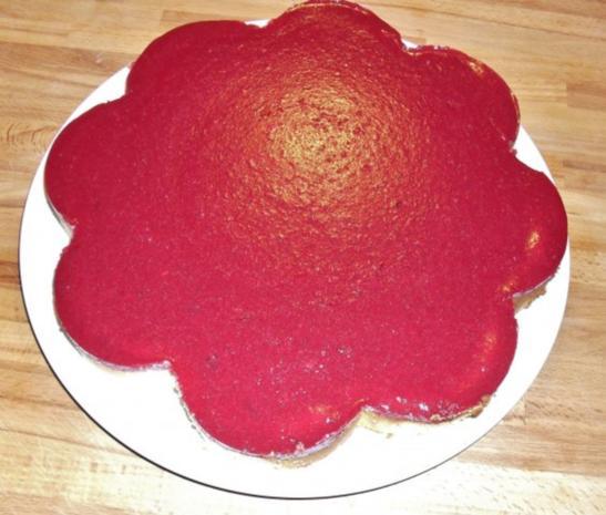 Käsekuchen mit Kirschspiegel - Rezept - Bild Nr. 5