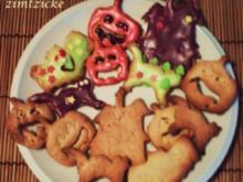 Halloween : Grusel ~ Kekse - Rezept