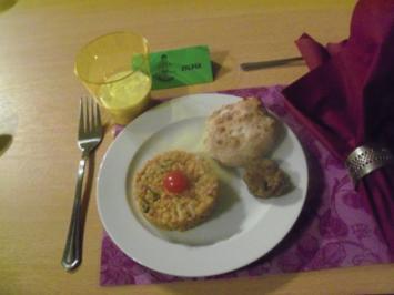 Indisches Dinner - Mintapfeljoghurt - Rezept