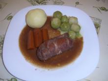 Rinderroulade Forstmeisterart - Rezept