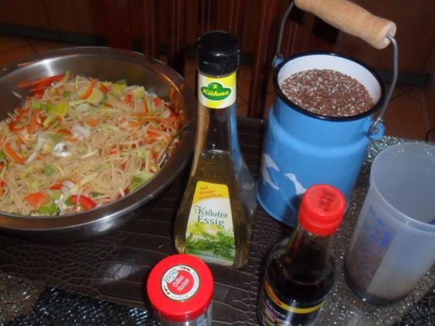 bunter spaghettisalat - Rezept - Bild Nr. 2