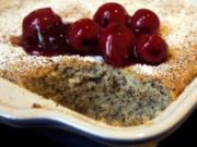 Mohn-Gries-Auflauf - Rezept