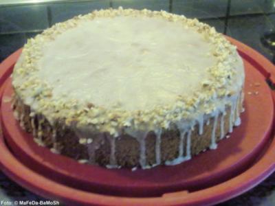 Saftiger Nußkuchen - Rezept