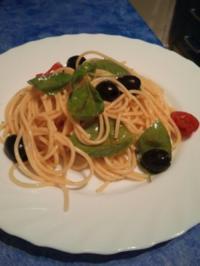 Spaghetti  Aglio  Olio  von    Mamma - Rezept