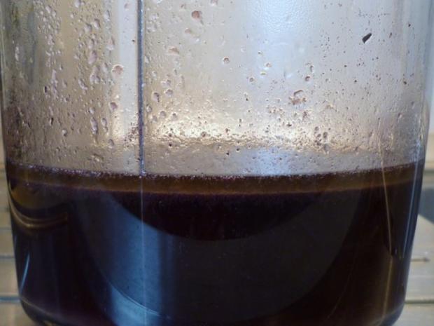 Gänsebrust in Apfel – Zwiebel – Rotweinsoße - Rezept - Bild Nr. 5