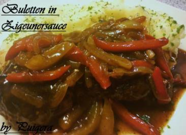 Buletten in Zigeunersosse - Rezept