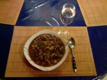 Eintopf: Bunter Bohneneintopf mit Gemüse - Rezept